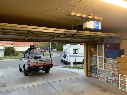 New Garage Door Motor Installation – Roseville, CA