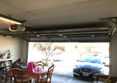Garage Door Off the Track – Sacramento, CA