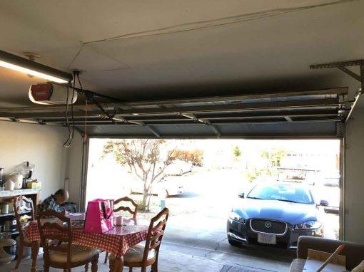 Garage Door Off the Track – Sacramento, CA