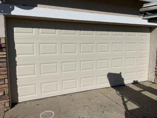 New Garage Door Install – Elk Grove, CA
