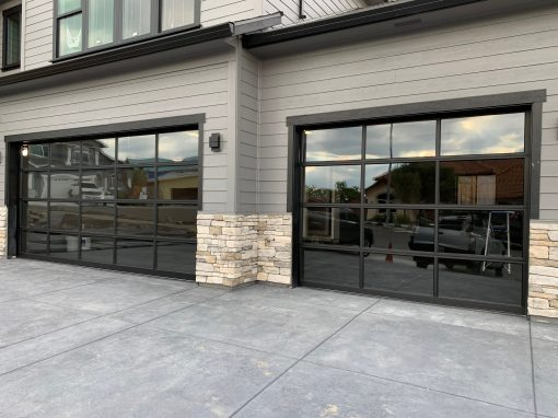 Glass Garage Door Install Santa Rosa, CA