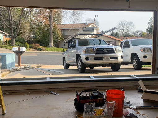New Garage Door Install – Roseville, CA